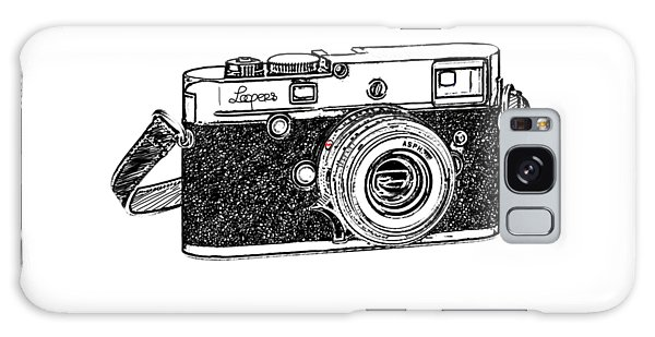 Camera Galaxy Case - Rangefinder Camera by Setsiri Silapasuwanchai