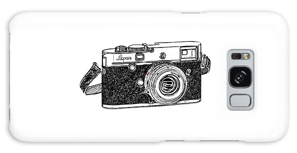 Vintage Camera Galaxy Case - Rangefinder Camera by Setsiri Silapasuwanchai