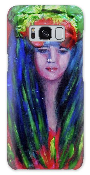 Rasta Girl Galaxy Case