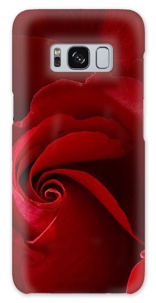 Red Rose Iv Galaxy Case by George Robinson