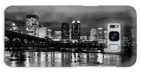 Richmond Skyline At Night Galaxy Case