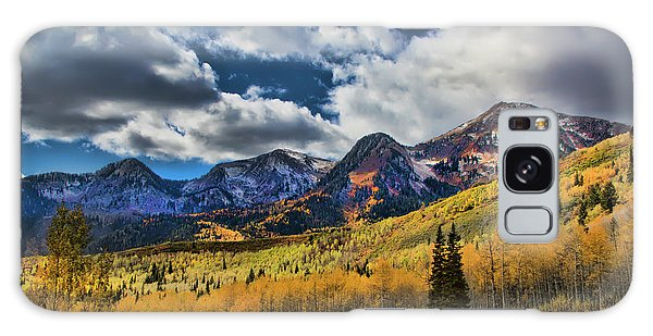 Rocky Mountain Fall Galaxy Case