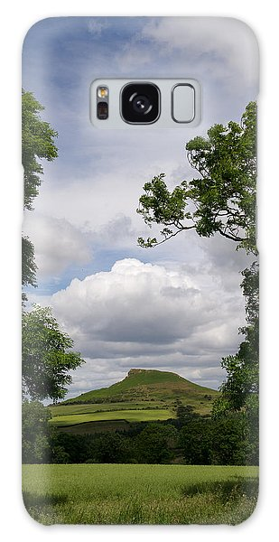 Roseberry Topping Galaxy Case by Gary Eason