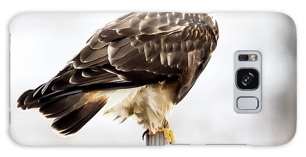 Galaxy Case featuring the photograph Rough-legged Hawk by Ricky L Jones