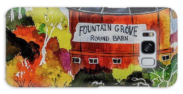 Round Barn ,santa Rosa Galaxy Case