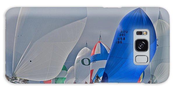 San Francisco Bay Sailboat Racing Galaxy Case