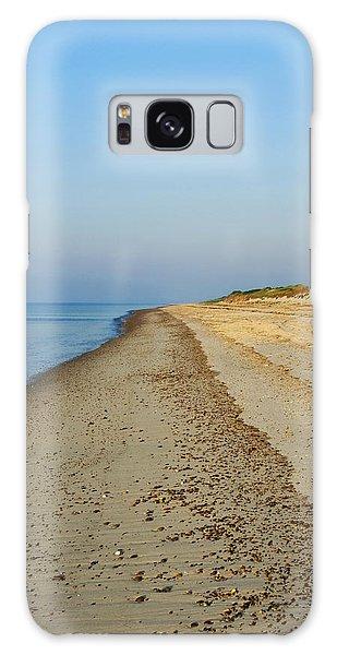 Sandy Neck Beach Galaxy Case