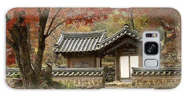 Seonamsa In Autumn Galaxy Case