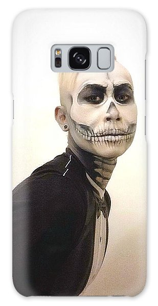 Skull And Tux Galaxy Case by Kent Chua