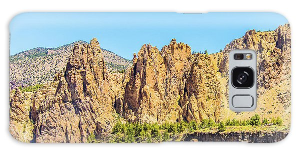 Galaxy Case featuring the photograph Smith Rock by Jonny D