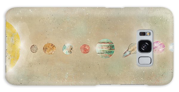 Outer Space Galaxy Case - Solar System by Bri Buckley