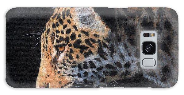South American Jaguar Galaxy Case by David Stribbling