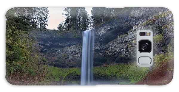 South Falls At Silver Falls State Park Galaxy Case