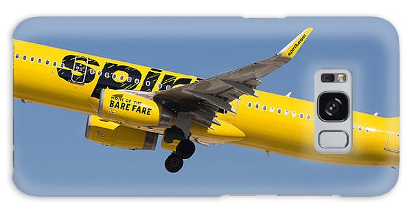Galaxy Case featuring the photograph Spirit Airline by Dart and Suze Humeston