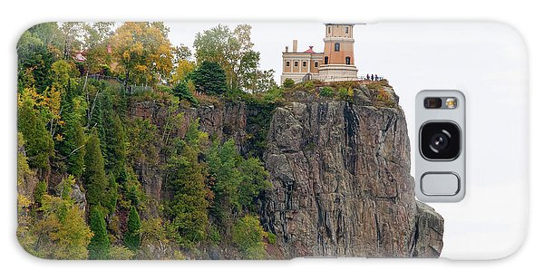 Split Rock Lighthouse Galaxy Case by Steve Stuller