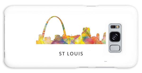 St Louis Mo Galaxy Case - St Louis Missouri Skyline by Marlene Watson