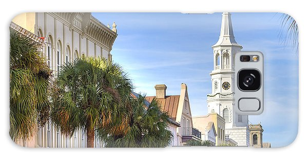 St Michaels Church Charleston Sc Galaxy Case