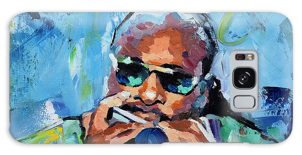 Stevie Wonder Galaxy Case by Richard Day