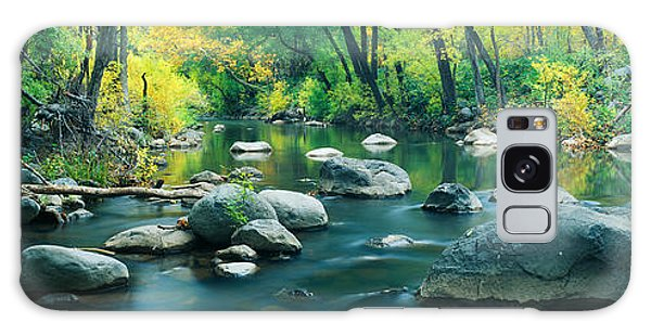 Chasm Galaxy Case - Stream In Cottonwood Canyon, Sedona by Panoramic Images