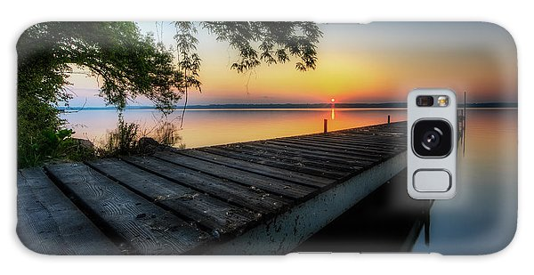 Great Lakes Galaxy Case - Sunrise Over Cayuga Lake by Everet Regal
