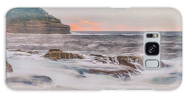 Sunrise Seascape And Headland Galaxy Case