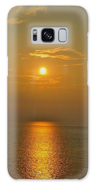 Sunset At Rameshwaram  Galaxy Case