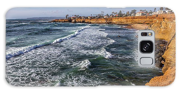 Sunset Cliffs 2 Galaxy Case by Peter Tellone