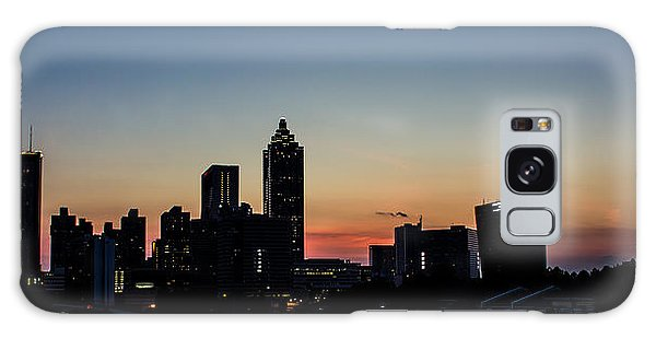 Sunset In Atlanta Galaxy Case