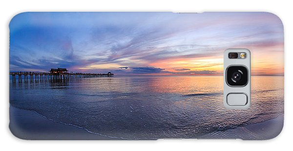 Sunset Naples Beach Florida Galaxy Case