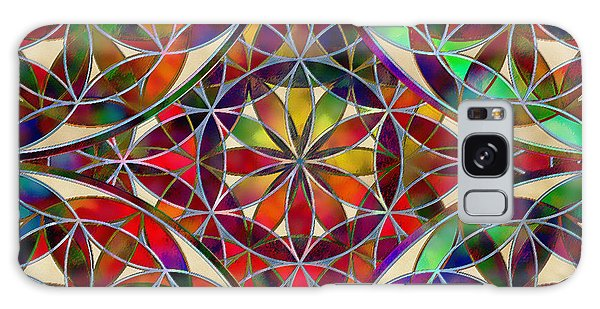 The Flower Of Life Galaxy Case
