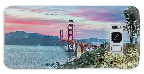The Golden Gate Galaxy Case by JR Photography