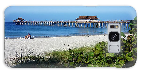 The Historic Naples Pier Galaxy Case