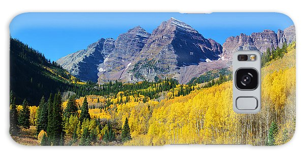 Galaxy Case featuring the photograph The Maroon Bells by Kate Avery