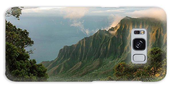 Napali Coast Sunset Galaxy Case