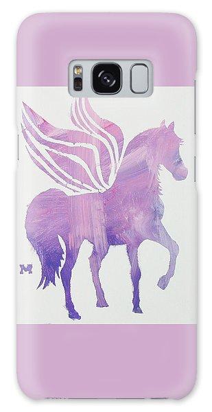 The Pink Pegasus Galaxy Case