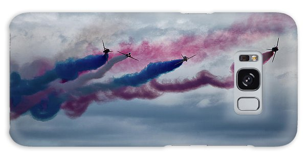 Airplanes Galaxy Case - The Red Arrows by Smart Aviation