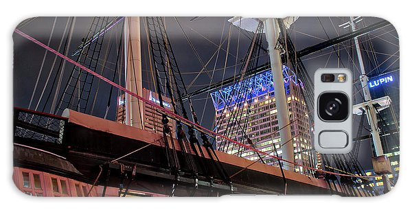 Galaxy Case featuring the photograph The Uss Constellation by Mark Dodd
