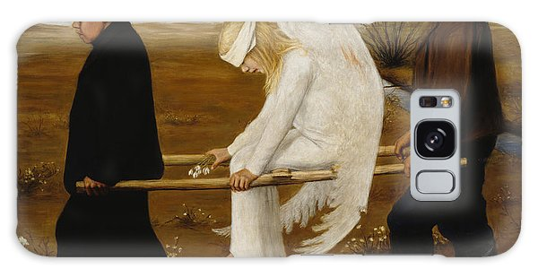 Venus Galaxy Case - The Wounded Angel by Hugo Simberg