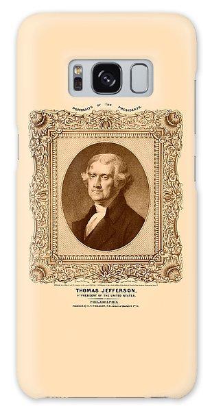 Thomas Jefferson Galaxy Case - Thomas Jefferson by War Is Hell Store