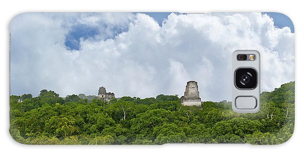 Tikal, Guatemala Galaxy Case by Marius Sipa