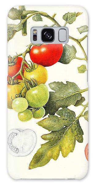 Food Galaxy Case - Tomatoes by Margaret Ann Eden