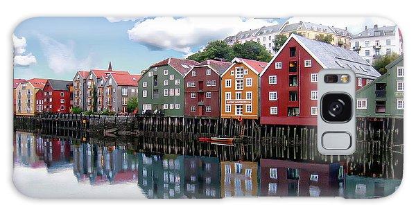 Trondheim Coastal View Galaxy Case