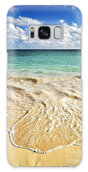 Tropical Beach  Galaxy Case