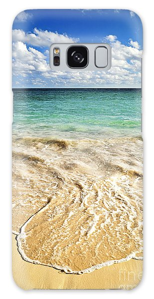 Beach Galaxy S8 Case - Tropical Beach  by Elena Elisseeva