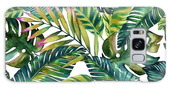 Vector Galaxy Case - Tropical  by Mark Ashkenazi