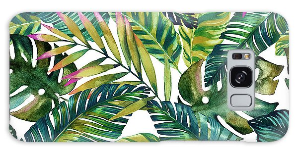 Bird Galaxy Case - Tropical  by Mark Ashkenazi