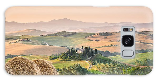 Tuscany Morning Galaxy Case