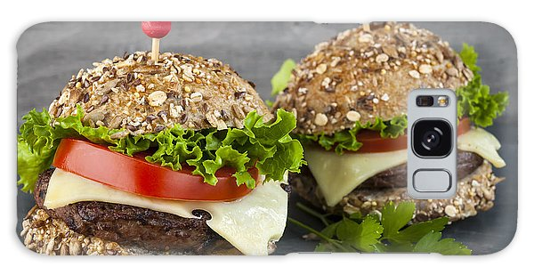 Two Gourmet Hamburgers Galaxy Case