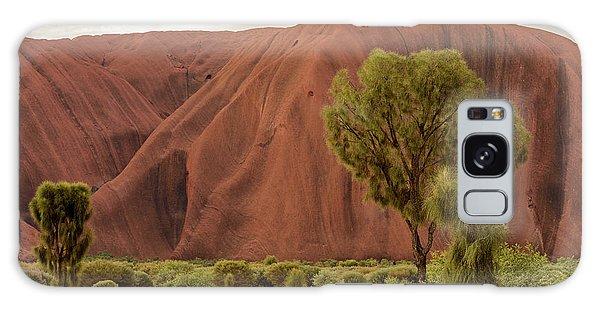 Galaxy Case featuring the photograph Uluru 08 by Werner Padarin