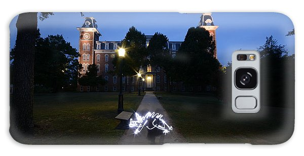 University Of Arkansas Galaxy Case by Chris  Look